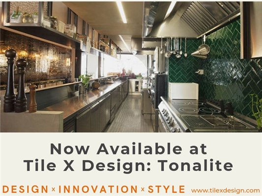 Now available at Tile X Design: Trendy and Trusted Italian tile by
